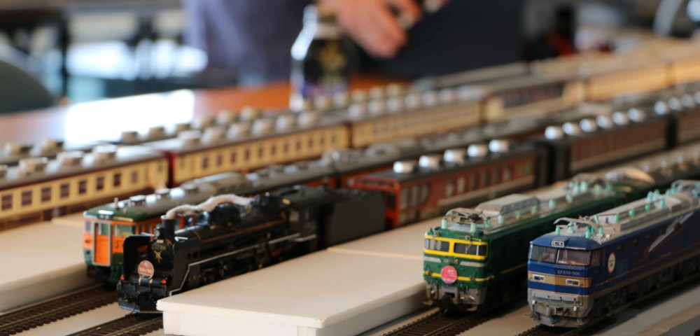 「鉄道模型走行会(萬代鉄道模型同好会)」の写真