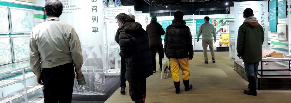 「2017年1月14日(土)新津鉄道資料館ボランティア講座①を開催しました」の写真