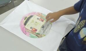 「凧作り体験が開催されました」の写真